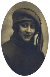 Людмила Окназова в молодости