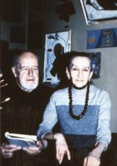 Валерий Каптерев с Людмилой Окназовой. 1970-е