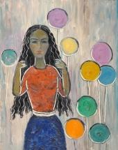 Девочка с шарами