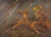 Глиняные лошадки, убежавшие в грозу