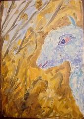 Голубой барашек