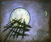 Ноктюрн. Луна и молнии