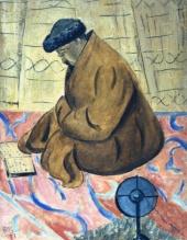 В юрте. Читающий Коран